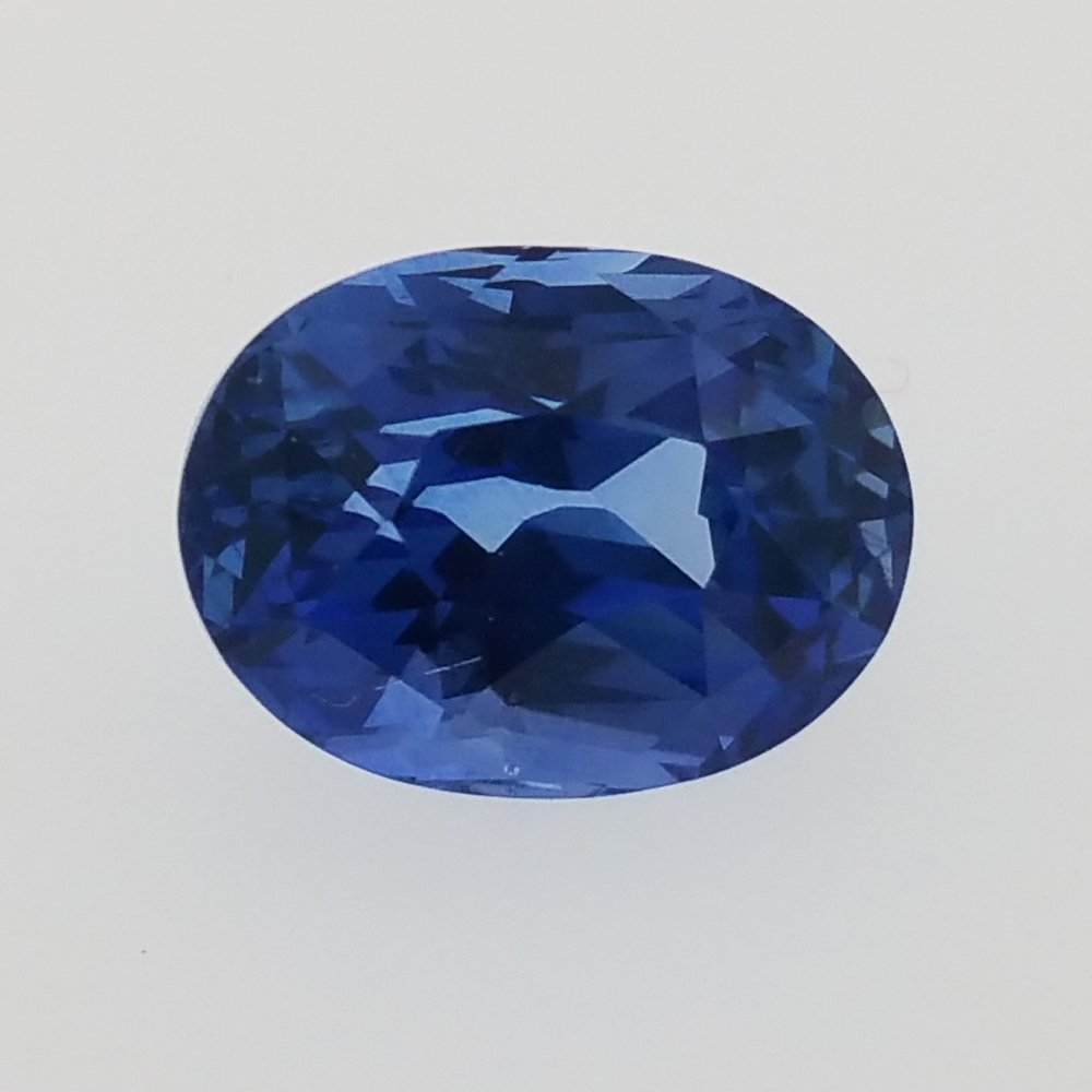 oval certified blue cts sapphire deep gemstones pin natural mm cab