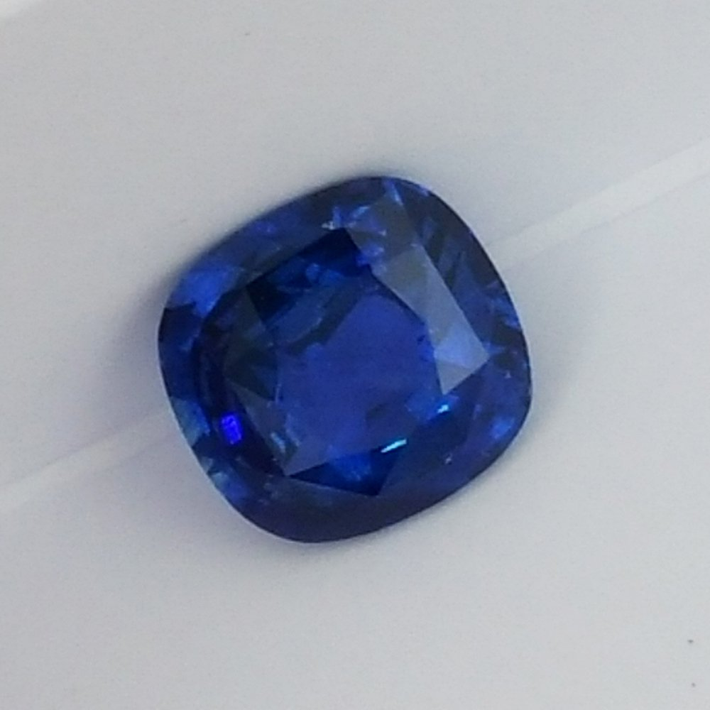 round x new madagascar natural sapphire sky deep blue